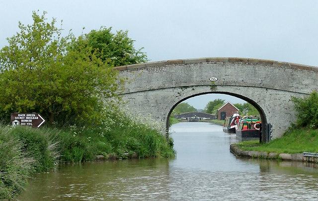 Burrows Bridge at Hack Green, Cheshire