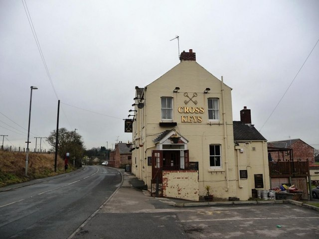 The Cross Keys pub, New Road, Old Snydale