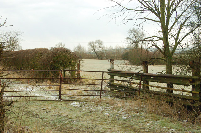 Field gate east of the A45, Dunchurch