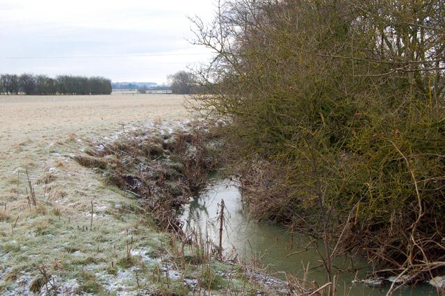 Rains Brook near Wolscott Bridge, Dunchurch