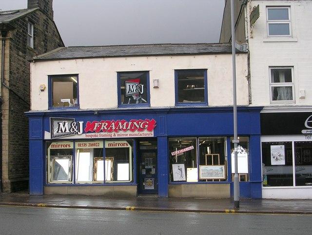 M & J Framing - High Street