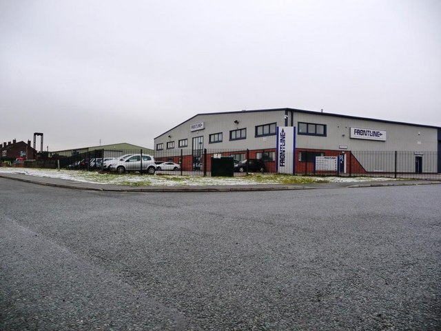 Front Line, at the eastern end of Green Lane Industrial Park