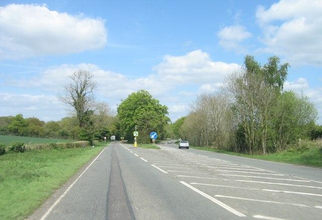 A30 approaching Basingstoke