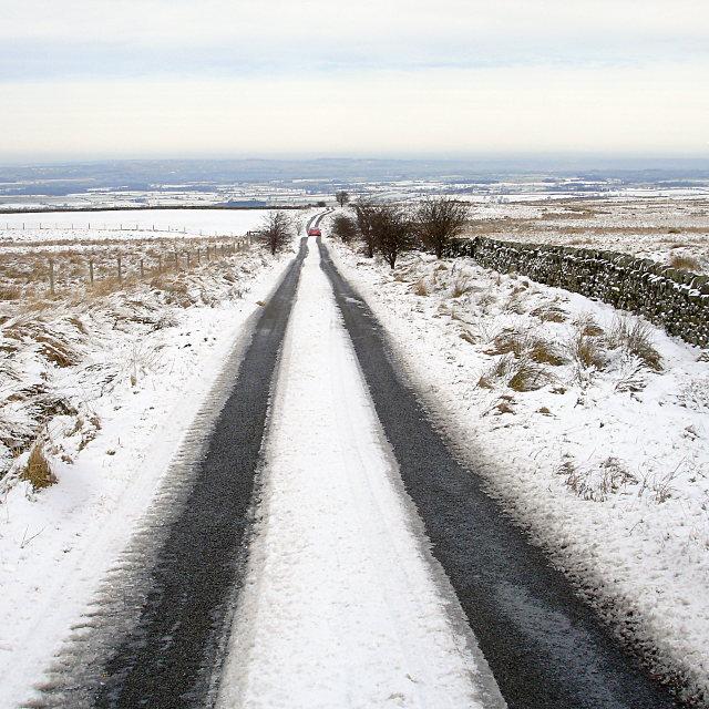 Cautious descent, Moor Lane