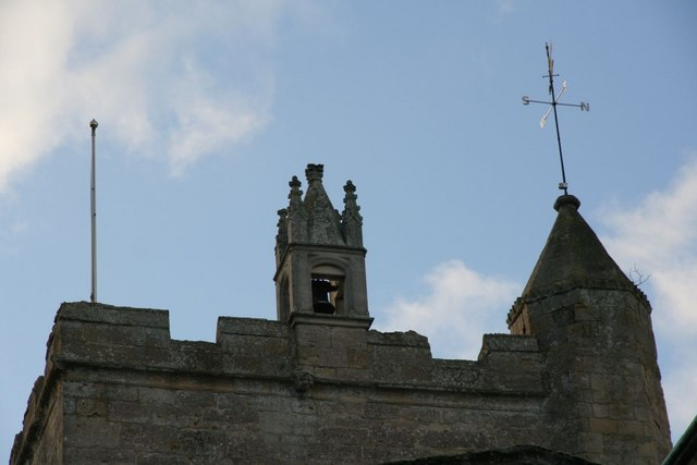 Turrets on the tower