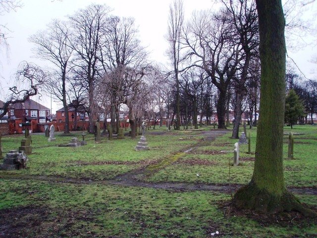 The cemetery in Pallister