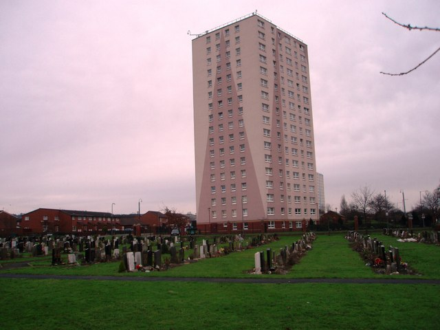 The Roman Catholic cemetery in Thorntree