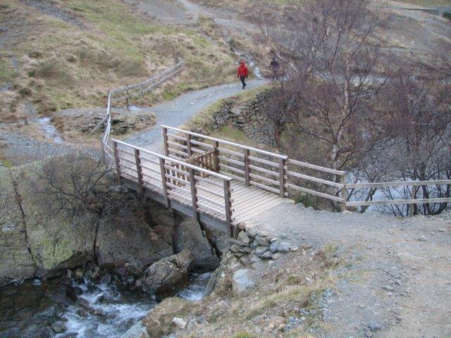 A gate on the bridge