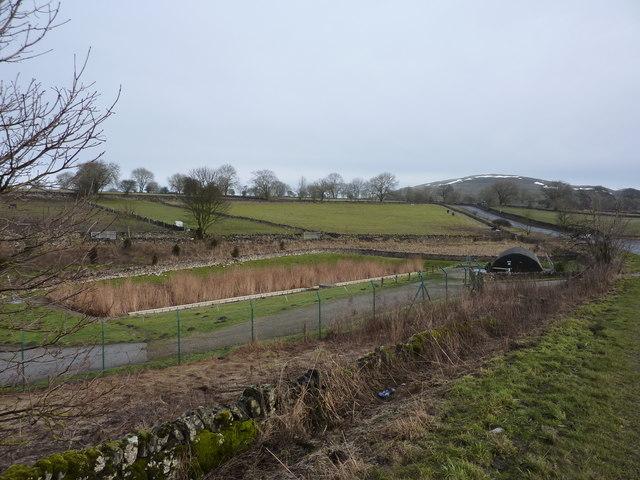 Sewage treatment works on Old Coalpit Lane