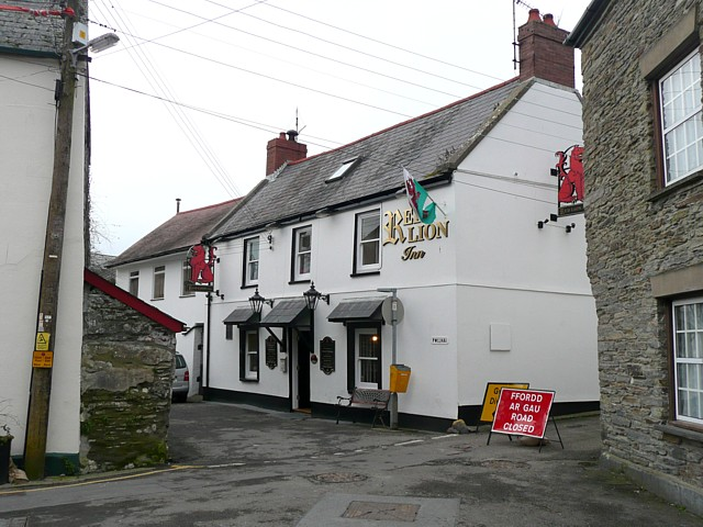 The Red Lion, Cardigan