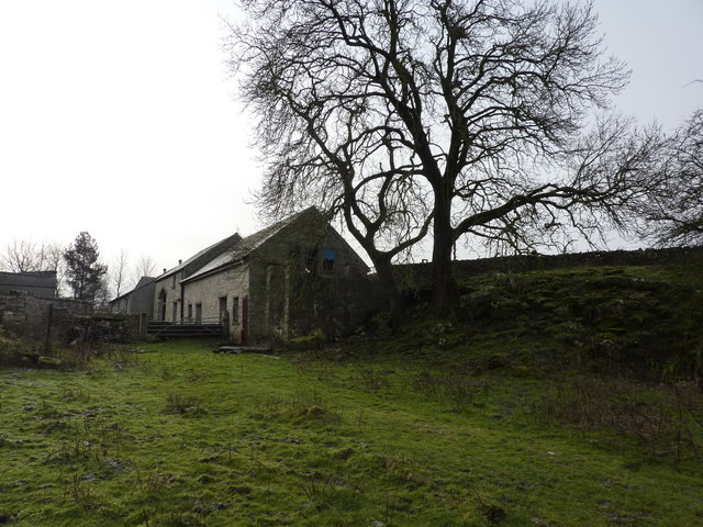 Farm buildings, Horseshoe Dale