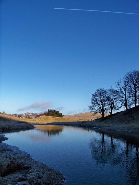 River Clyde Near Elvanfoot