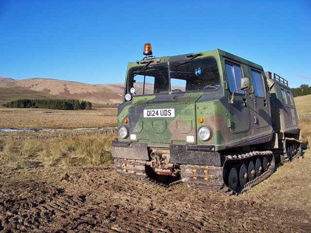 Wind Farm Contractor's Tracked Vehicle