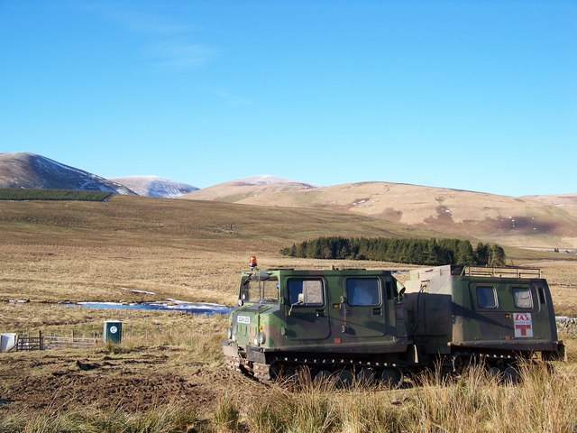 Wind Farm Contractor's Tracked Vehicle - Alternative View