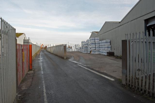Public Footpath, New Holland Dock