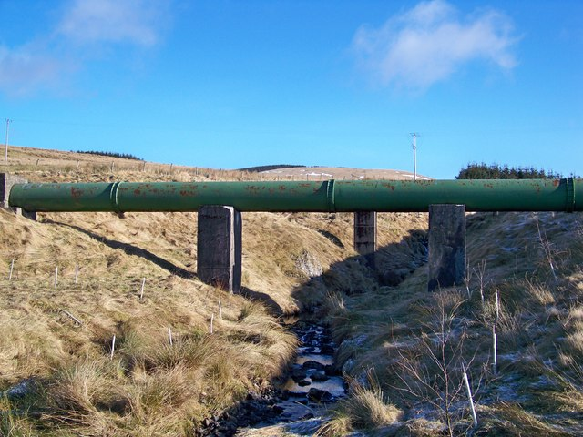 Allershaw Burn And Daer Pipeline