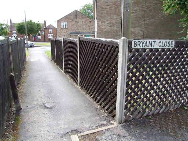 Bryant Close, Horncastle