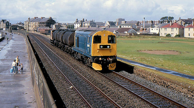 Bitumen train, Saltcoats
