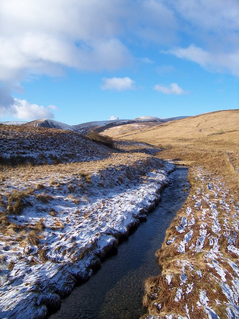 Potrenick Burn And The Lowther Hills