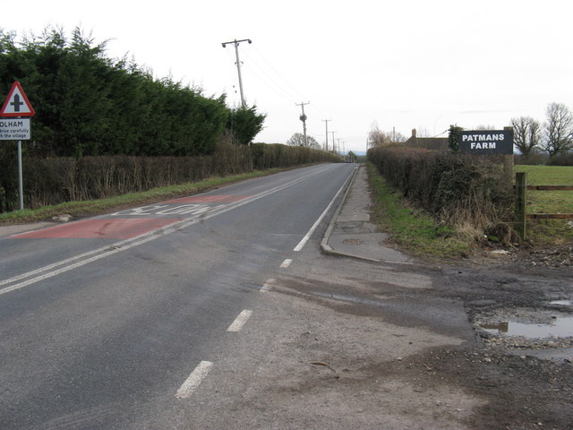 A 272 SE towards Coolham