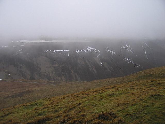 Cwm Dulas from Foel Fadian