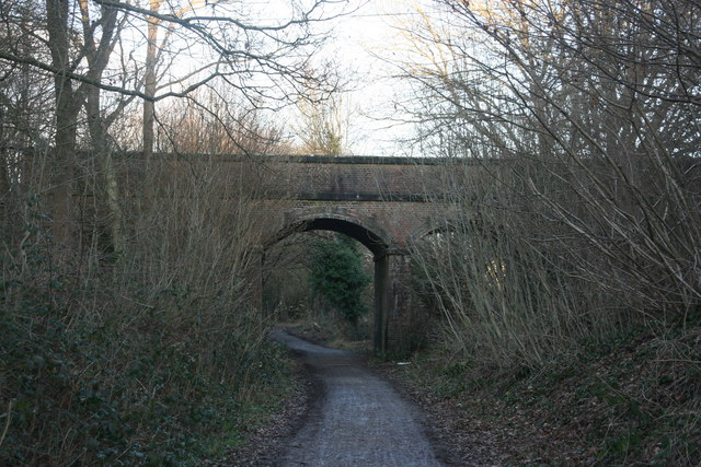 Bridge over Forest Way