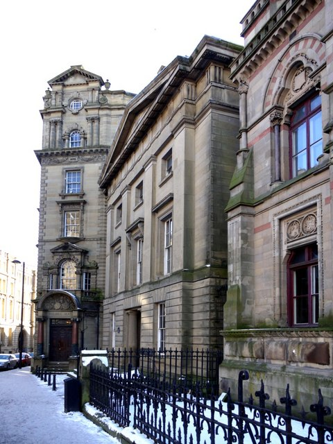Bolbec Hall and the Literary & Philosophical Society, Westgate Road