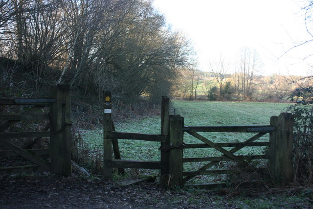 Permissive path off Forest way