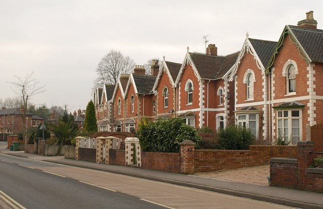 Houses on Wembdon Road, Bridgwater