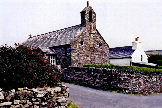 Cregneash Village - St. Peter's Church south exterior