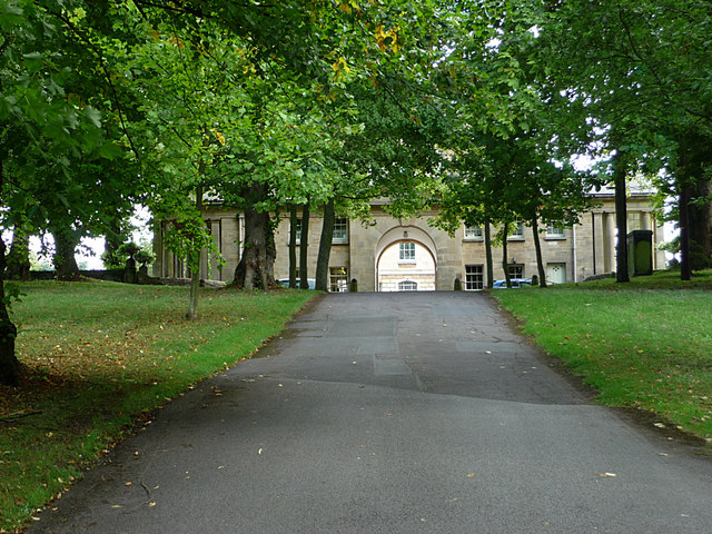 Buscot House from the north west