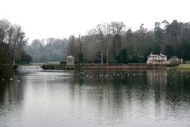 The Weir and Lake, Studley Royal
