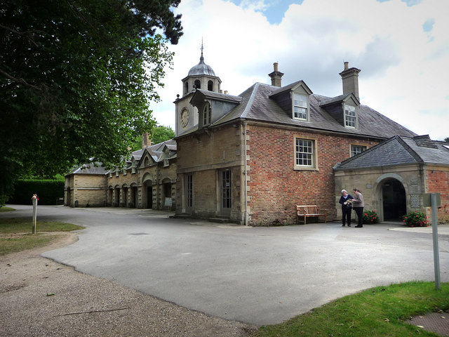 The stable block Buscot Park