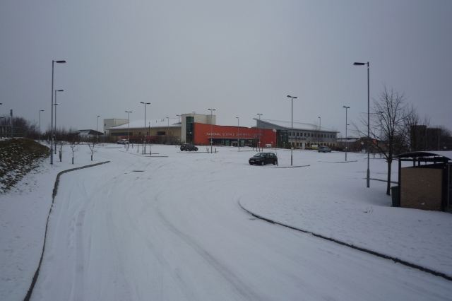 National Science Learning Centre in the snow