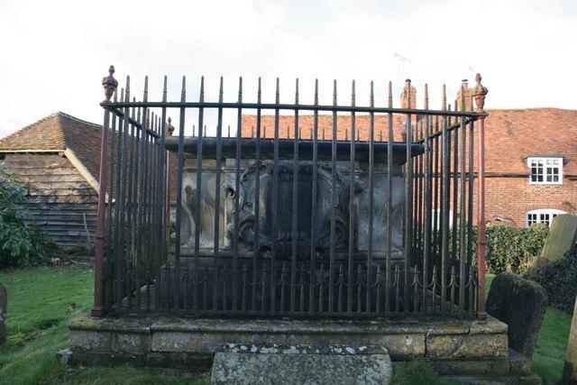 Fence around the tomb