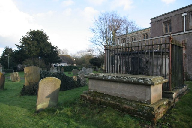 Headstones and tombs