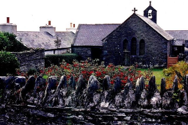 Cregneash Village - St. Peter's Church north exterior