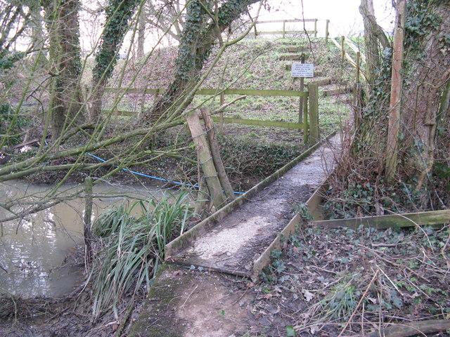 Iron bridge over Parson's Brook