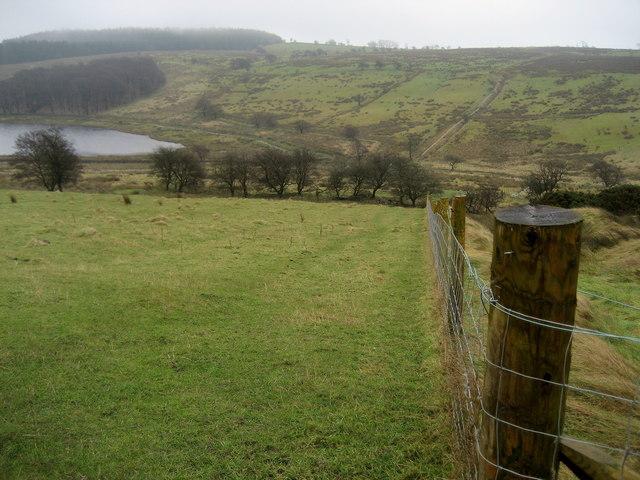 Footpath to the Head of Dean Clough Reservoir