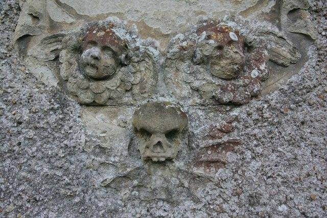 Skull at the bottom