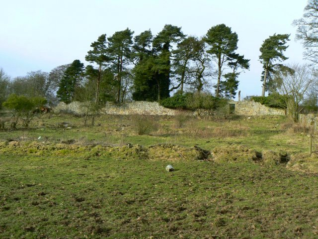 Remains of Lochore House