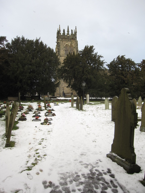 All Saints' churchyard and tower