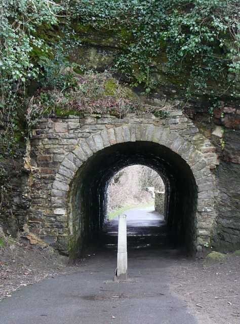 Tunnel on the mineral line, Saundersfoot