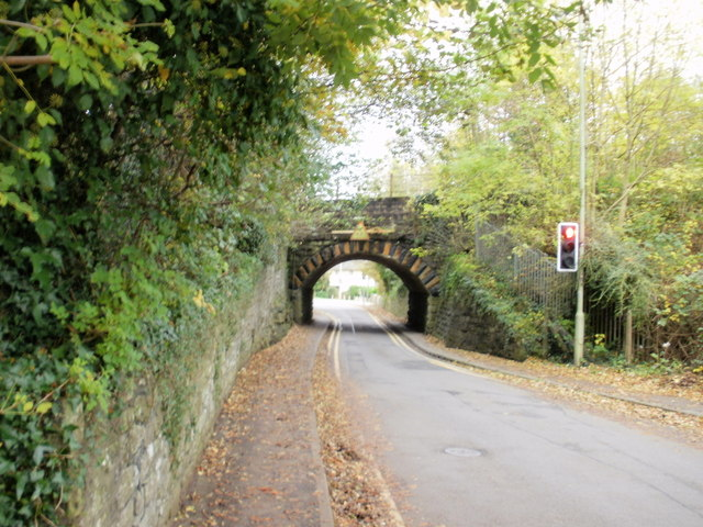 Railway bridge across Quarella Road, Bridgend
