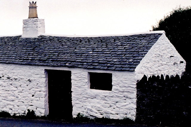 Cregneash Village - The Smithy (Blacksmith) building