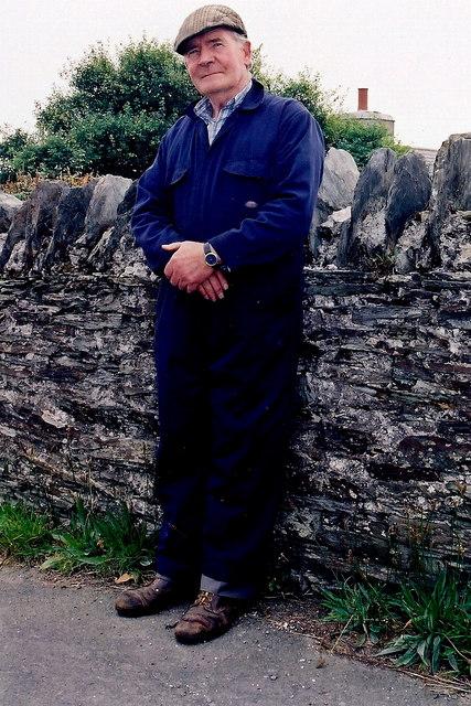 Cregneash Village - The Smithy taking a break