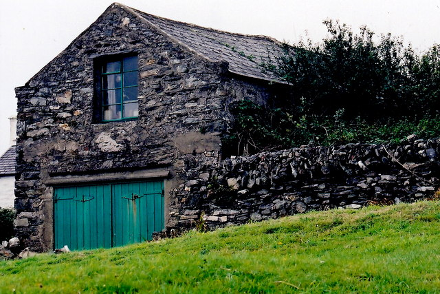 Cregneash Village - Building southeast of The Smithy
