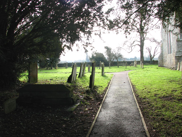 All Saints church - churchyard