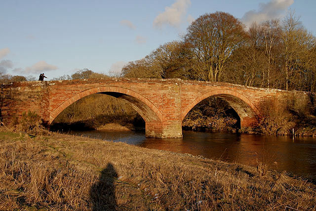 A bridge over the River Nith at Thornhill