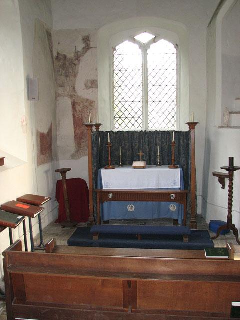 All Saints church - north aisle